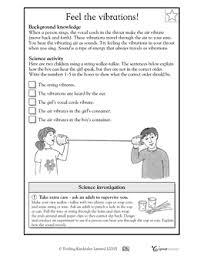 feel the vibrations worksheets u0026 activities greatschools