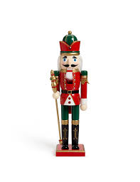 large wooden nutcracker m s