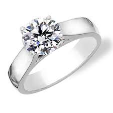 Solitaire Wedding Rings by Best 25 Solitaire Rings Ideas On Pinterest Round Solitaire