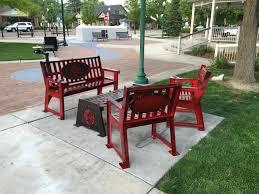 powder coated benches allegiant powder coating