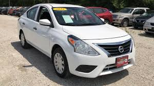 nissan versa tire size used one owner 2016 nissan versa s plus chicago il western ave