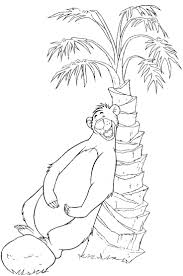 jungle book coloring pages letter find colouring games pdf print