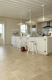 kitchen floor sapcious farmhouse kitchen design stone tile