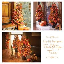 thanksgiving dinner in a can 2 ft pre lit pumpkin tree this beautiful fall decoration can be