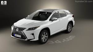 lexus crossover 2016 360 view of lexus rx 350 2016 3d model hum3d store