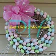 diy dollar tree easter wreath burlapkitchen