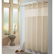 hookless hbh49peh05 beige view from the top shower curtain with