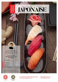 cours cuisine sushi cours de cuisine acfj ayumi dole