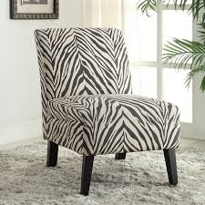 Zebra Print Accent Chair Linon Bradford Accent Chair With Zebra Print Free Shipping Today