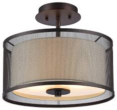 Bronze Ceiling Light Audrey Light Fixture Oil Rubbed Bronze Transitional Flush