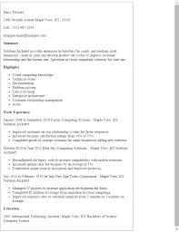 Technical Architect Sample Resume by Java Architect Sample Resume Sales Architect Lewesmr