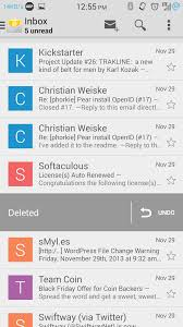 android mail client how to install android 4 4 kitkat default email client on custom