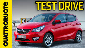 opel karl 2015 opel karl cosmo 2015 test drive youtube