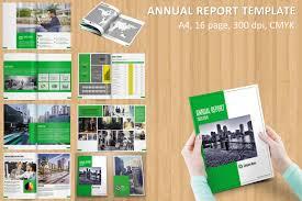 ind annual report template 2017 annual report brochure brochure templates creative market