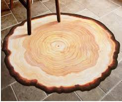 tree ring coffee table antique wood tree annual ring round 3d carpet for bedroom computer
