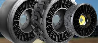 Airless Tires For Sale Car Tyre Used Michelin Has Chosen To Manufacture Its Revolutionary Airless Tire