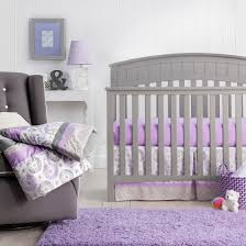 Butterfly Nursery Bedding Set by Nursery Beddings Purple Baby Crib Bedding Sets In Conjunction With