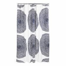 Navy Curtain Marimekko Pippuriker磴 Navy Shower Curtain Marimekko Shower Curtains