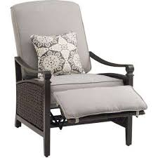 Patio Recliner Chair Reclining Outdoor Lounge Chairs Patio Chairs The Home Depot