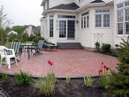 How Much Is A Stamped Concrete Patio by Stamped Concrete Patios Solid Ground Concrete Inc Buffalo Ny