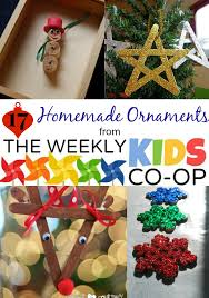 17 ideas for ornaments and the the weekly co op link