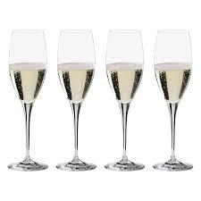 champagne transparent riedel