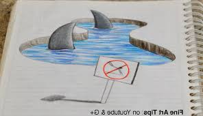 3d easy sketches step by step 3d drawings easy stepstep drawing