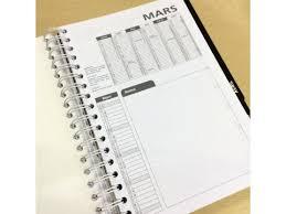 agenda de bureau fiche produit