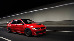 mitsubishi red mitsubishi lancer evo wallpapers wallpaper cave