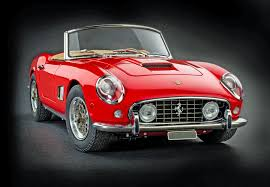 cmc replica ferrari 250 california swb red 1961