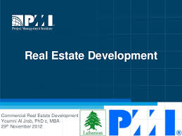 to commercial real estate development