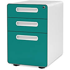 Teal File Cabinet Poppin White Pool Blue Stow 3 Drawer File Cabinet