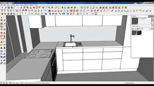 tutorial sketchup modeling google sketchup tutorial part 03 kitchen modeling sink and tap