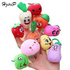 baby puppet 10pcs vegetables fruit finger puppet finger finger