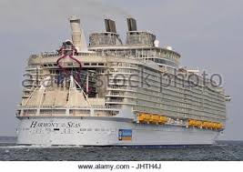 Largest Cruise Ship Harmony Of The Seas The Largest Cruise Ship In The World Moored