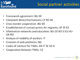 activit des si es sociaux coordinating the of eu agencies 2015 regulation of labour