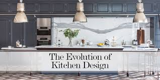 1940s Kitchen Design What U0027s Cooking The Evolution Of Kitchen Design The Luxpad