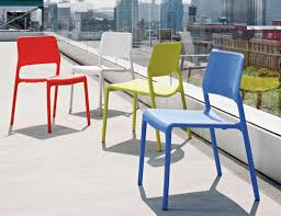 Frank Gehry Outdoor Furniture by Spark Series Side Chair Knoll
