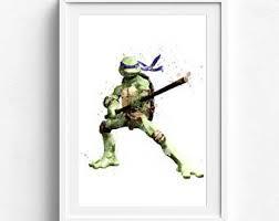 Teenage Mutant Ninja Turtles Poster Print Tmnt Cartoon