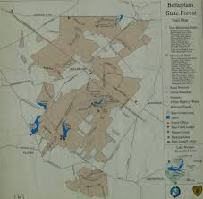 Grayson Highlands State Park Map by Gone Hikin U0027 Belleplain State Forest Nj