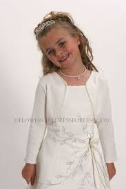 Flower Girls Dresses For Less - champagne chantilly lace with lining girls por anagrassia