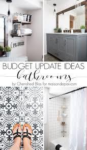 Budget Bathroom Ideas The 25 Best Budget Bathroom Ideas On Pinterest Budget Bathroom