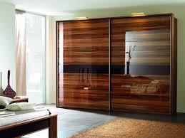 Sliding Closet Door Options Furniture Brown Sliding Closet Door Options With Ls Wooden Bed