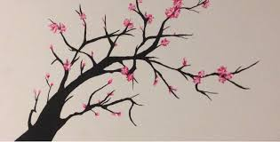 drawn cherry blossom easy pencil and in color drawn cherry