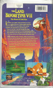the land before time vii the stone of cold fire vhscollector
