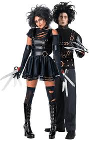 edward scissorhands costume mr miss edward scissorhands combination simply fancy dress