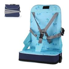rehausseur de siege auto bébé voyage bagage de réhausseur siège pliant chaise haute portable