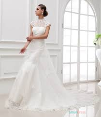 wedding dress overlay gorgeous white mermaid wedding dress with tulle overlay