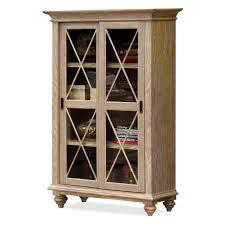 riverside coventry sliding door bookcase hayneedle