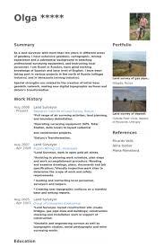 surveyor resume samples visualcv resume samples database